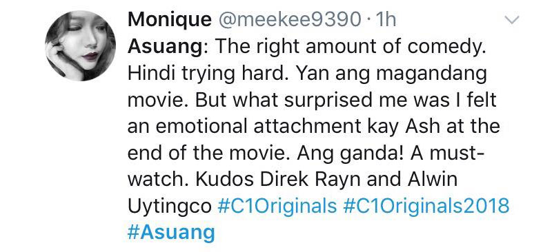What Filipinos love about the movies of C1 Originals Film Festival this year 13