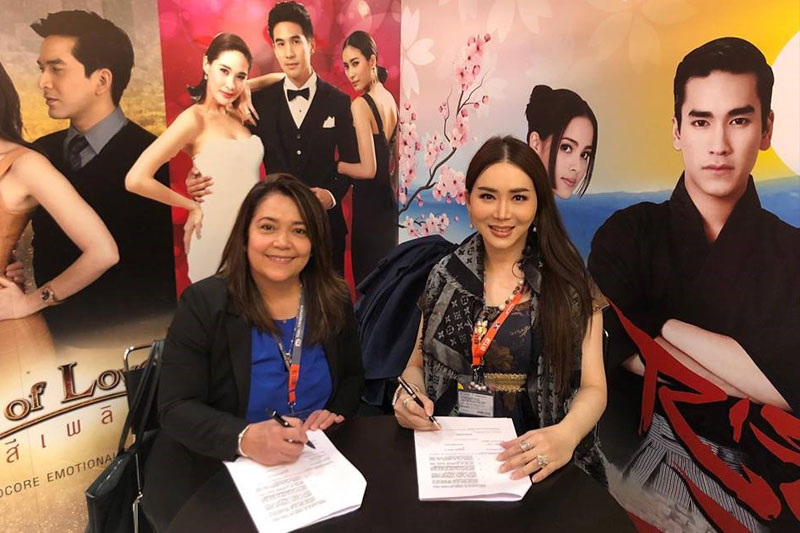 More ABS CBN shows to air in Thailand 1