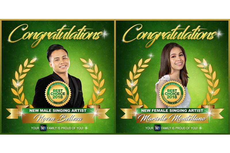 Tawag Ng Tanghalan named most successful singing talent competition in PH TV by Best Choice Awards 1
