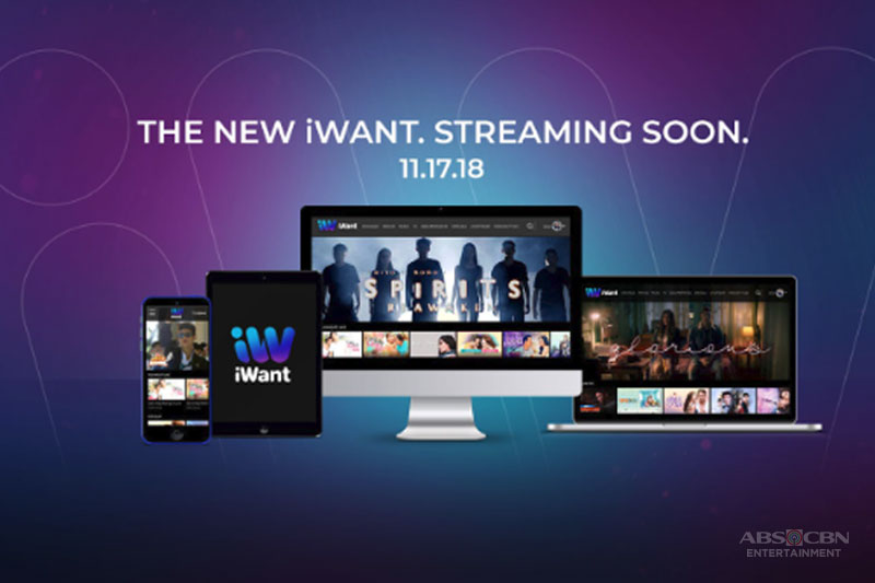 Bigger bolder better iWant TV transforms into iWant starting Nov 17 1