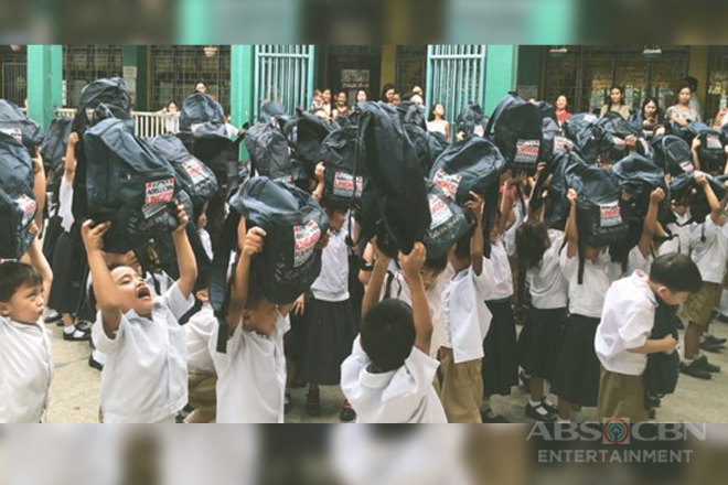 3,500 public school children in Laguna receive new school supplies