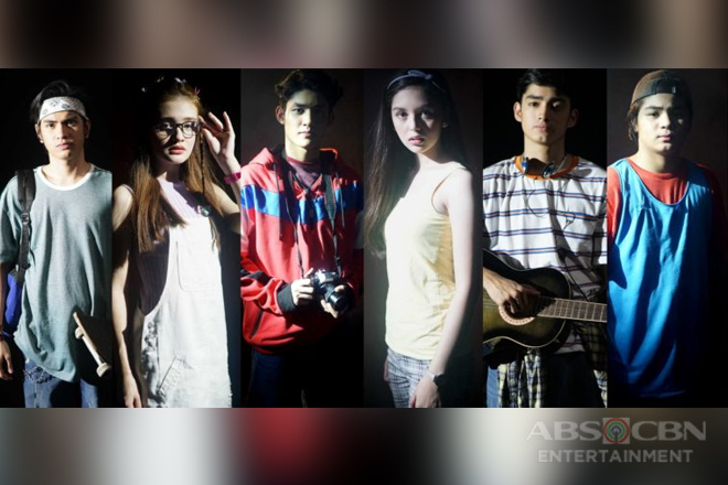 "Get to know the 6 Kapamilya teen stars of iWant's original series ""Spirits Reawaken"""