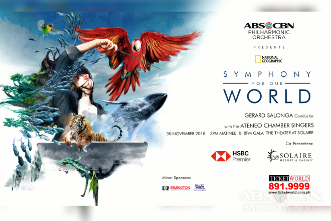 ABS-CBN Philharmonic Orchestra presents National Geographic Symphony for Our World
