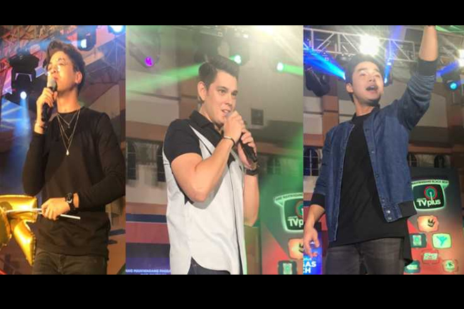 "Richard Gutierrez, Hashtags, at ""Tawag Ng Tanghalan"" artists nagpasaya sa ABS-CBN TVplus launch sa Batangas"