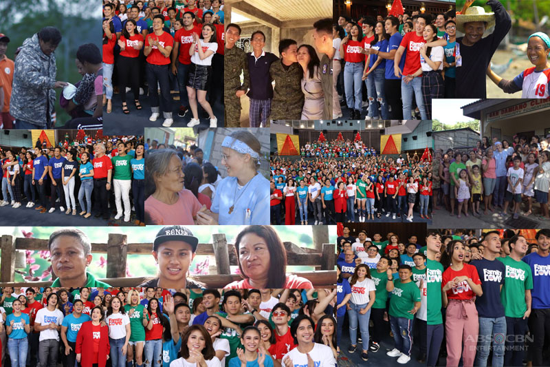 Love in all kinds of family celebrated in ABS CBN s 2018 Christmas station ID 1