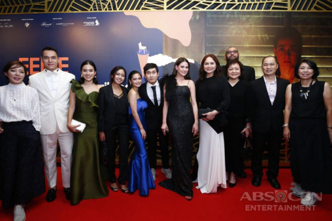 Charo, Bea grace World Premiere of Eerie at Singapore International Film Festival