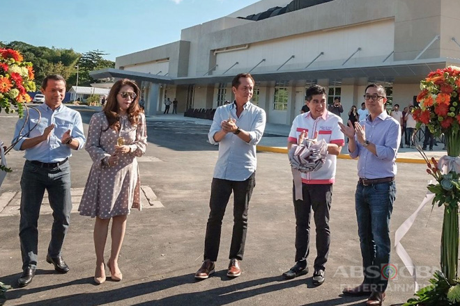 ABS-CBN unveils sound stages as part of 65th year of television celebrations