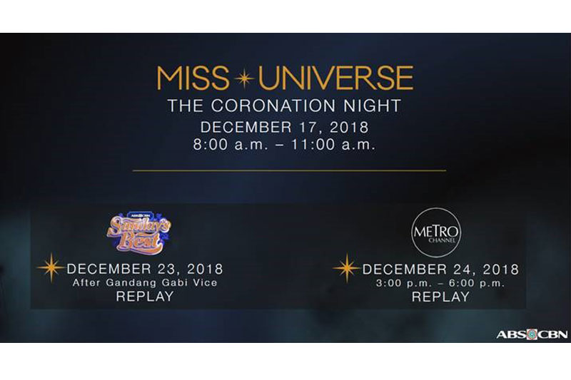 ABS-CBN airs Catriona's quest for PH's fourth Miss Universe