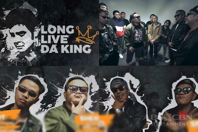 Rap artists ng FPJ's Ang Probinsyano, nagbigay-pugay kay Da King