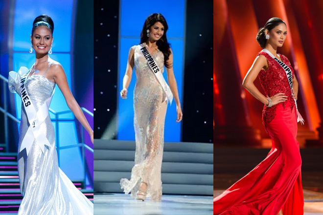 Memorable signature walks of Miss Universe PH bets