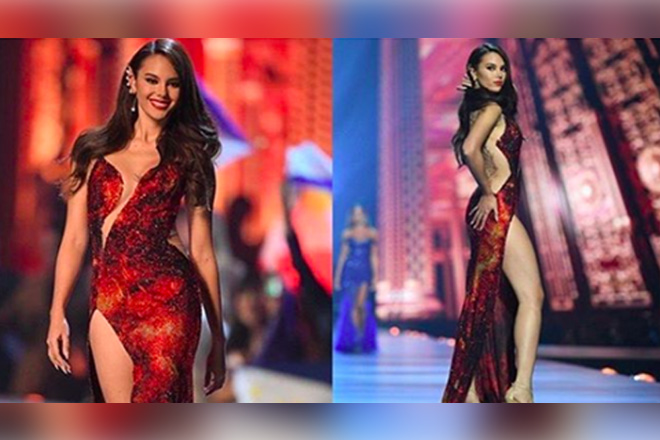 LOOK: Catriona's Gown that Wowed the Whole Universe