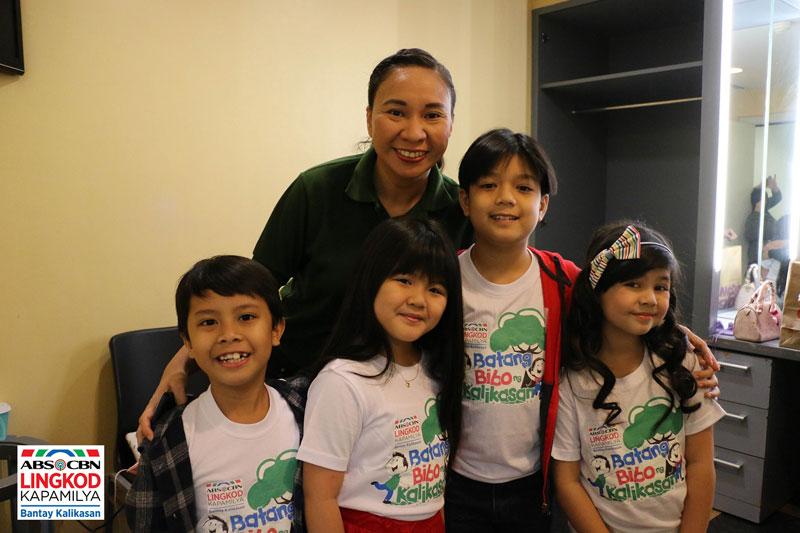 Bantay Kalikasan says no to plastic launches Batang Bibo Ng Kalikasan 1