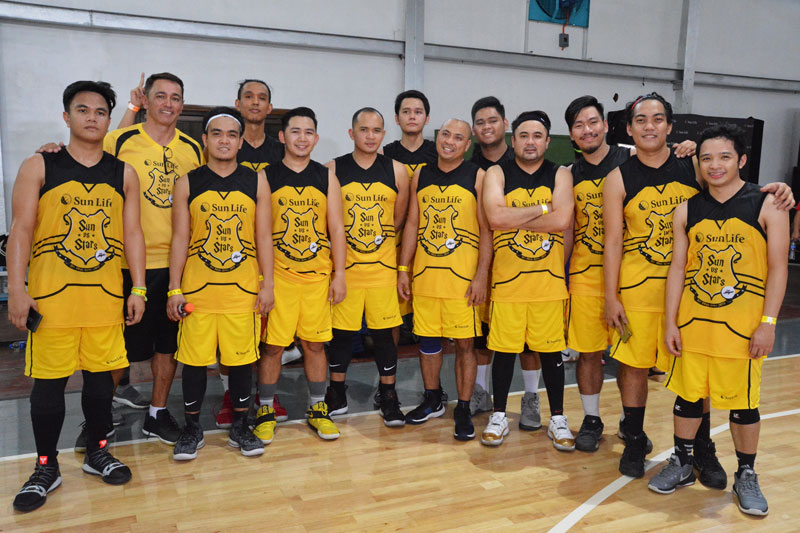 Piolo Pascual Gerald Anderson and other Star Magic celebrities talk health and fitness at Sun Vs Stars Sportsfest 15