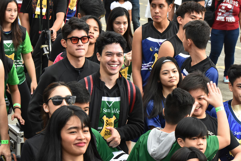 Piolo Pascual Gerald Anderson and other Star Magic celebrities talk health and fitness at Sun Vs Stars Sportsfest 3