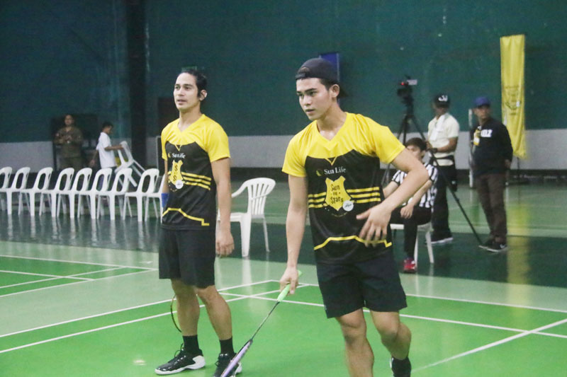 Piolo Pascual Gerald Anderson and other Star Magic celebrities talk health and fitness at Sun Vs Stars Sportsfest 4