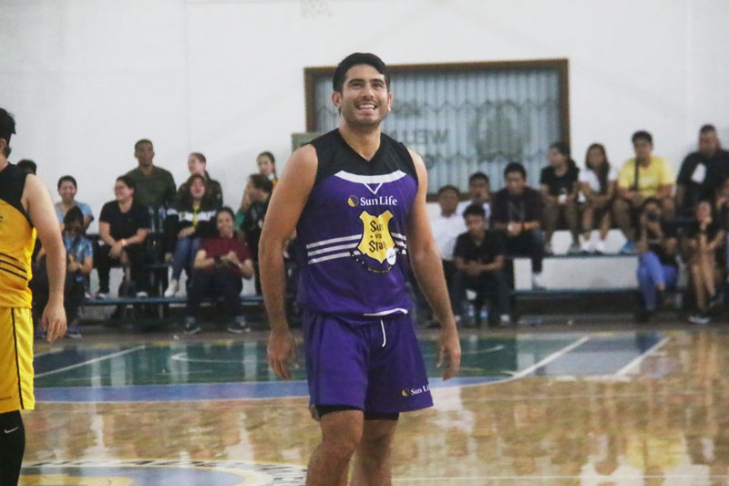 Piolo Pascual Gerald Anderson and other Star Magic celebrities talk health and fitness at Sun Vs Stars Sportsfest 5