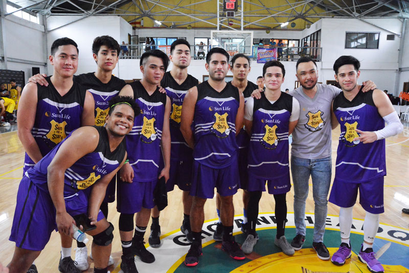 Piolo Pascual Gerald Anderson and other Star Magic celebrities talk health and fitness at Sun Vs Stars Sportsfest 6