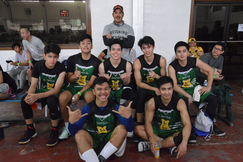 Piolo Pascual Gerald Anderson and other Star Magic celebrities talk health and fitness at Sun Vs Stars Sportsfest 9