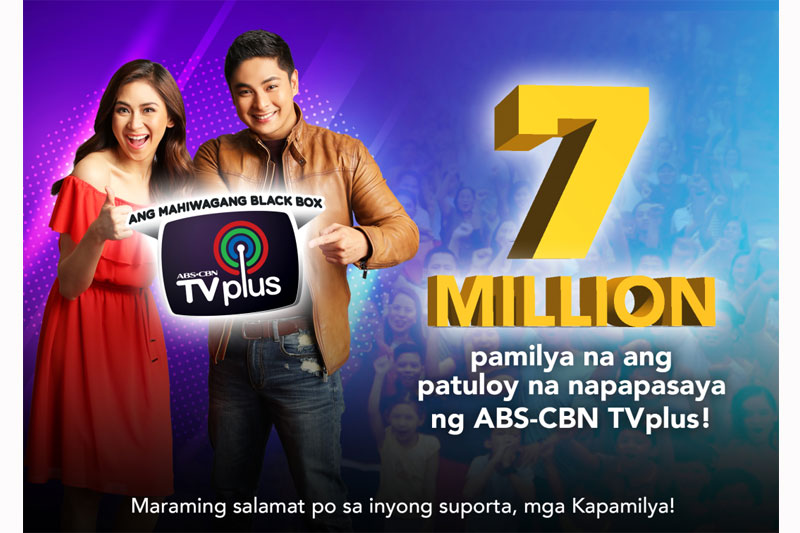 More viewers switching to digital TV as an ABS CBN TVplus sales hit 7M 1