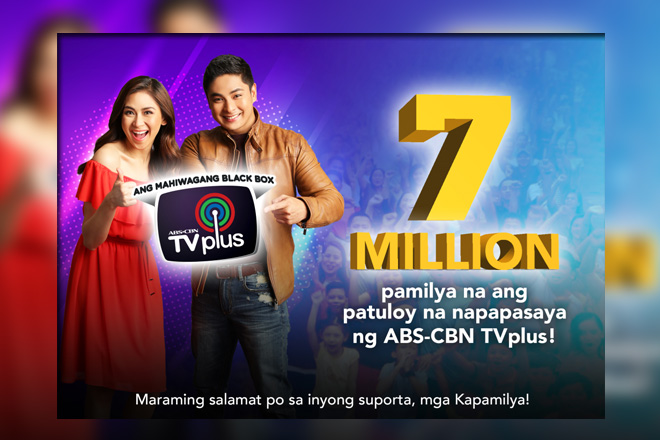 More viewers switching to digital TV as an ABS-CBN TVplus sales hit 7M