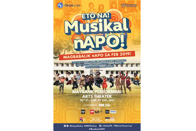 ETO NA Musikal nAPO returns to the stage for a second run  1