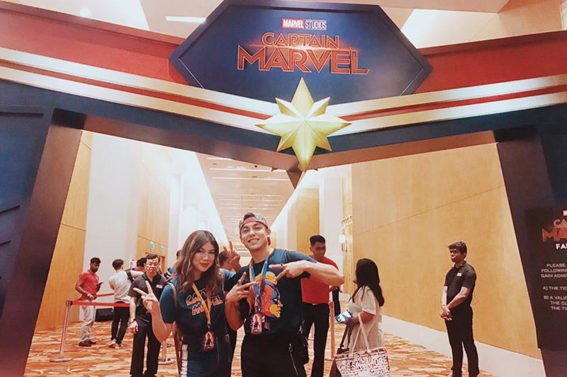 Go higher further and faster with Marvel Studios Captain Marvel and Globe 3