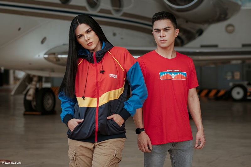 Go higher further and faster with Marvel Studios Captain Marvel and Globe 4