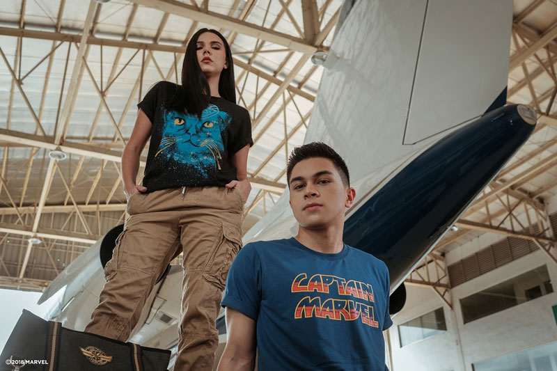 Go higher further and faster with Marvel Studios Captain Marvel and Globe 5