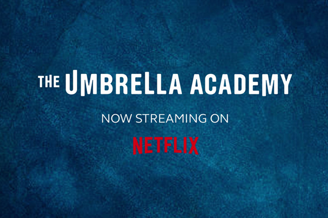 Super stream 'The Umbrella Academy' on Netflix with Globe At Home