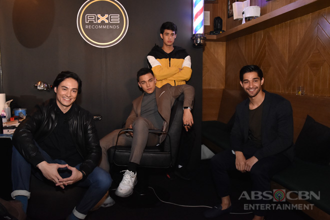 From first impressions to midnight cravings: A Quickie Q&A with Wil Dasovich, Vince Vandorpe, Donny Pangilinan, and Alex Diaz