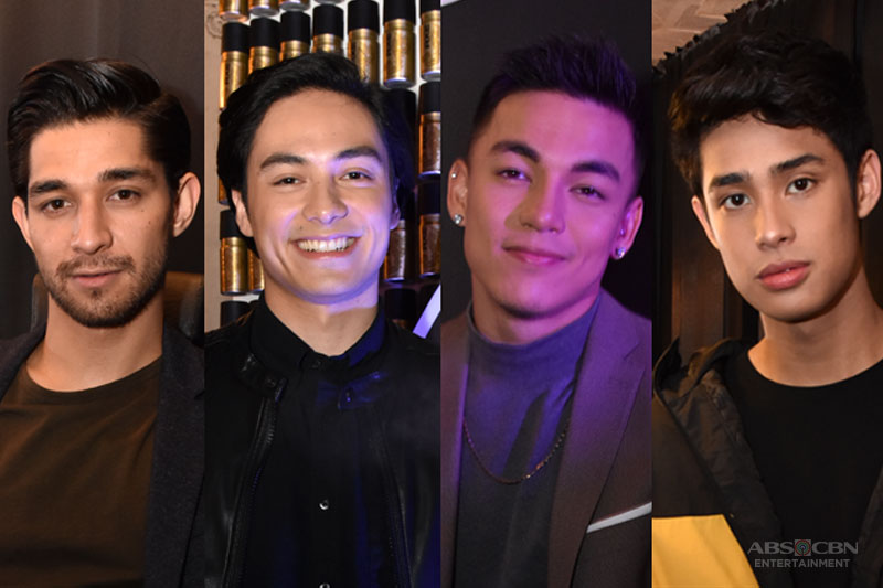 The definition of sexy Wil Dasovich Vince Vandorpe Alexander Diaz and Donny Pangilinan weigh in 1