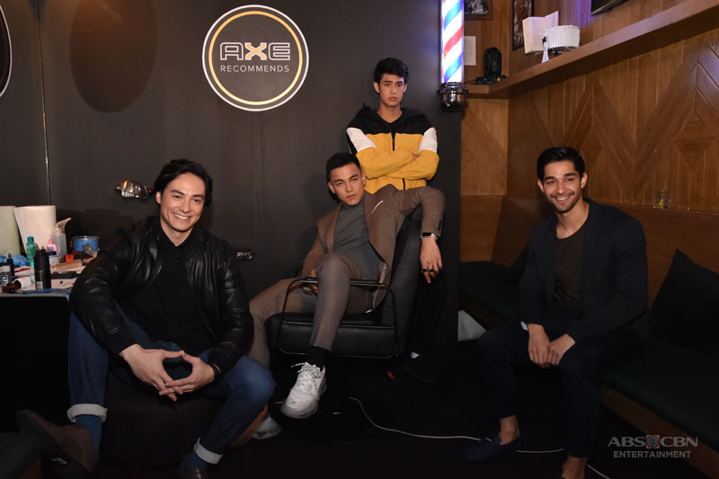 The definition of sexy Wil Dasovich Vince Vandorpe Alexander Diaz and Donny Pangilinan weigh in 6