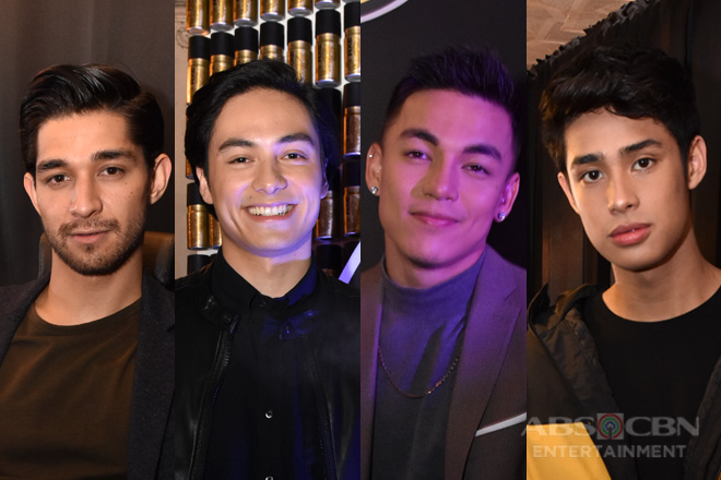 The definition of sexy: Wil Dasovich, Vince Vandorpe, Alexander Diaz, and Donny Pangilinan weigh in