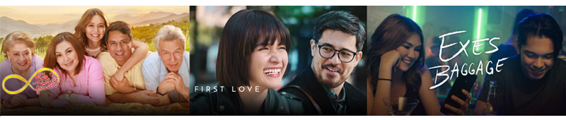 Largest most comprehensive lineup of Star Cinema titles on iWant 2