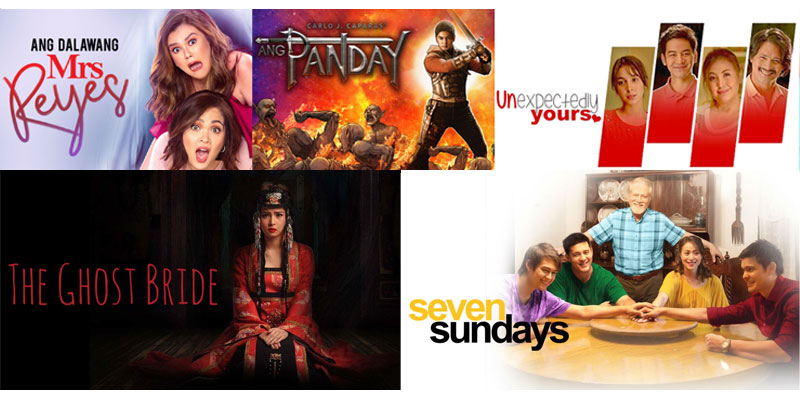 Largest most comprehensive lineup of Star Cinema titles on iWant 3