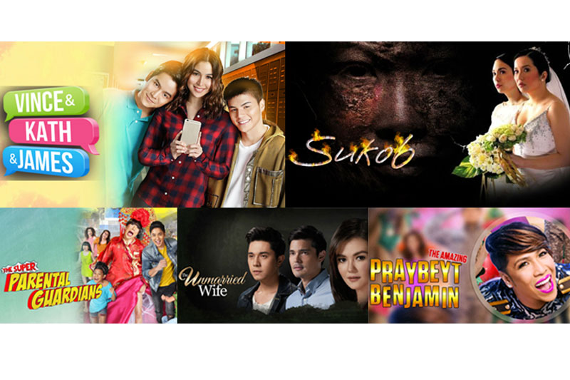 Largest most comprehensive lineup of Star Cinema titles on iWant 1