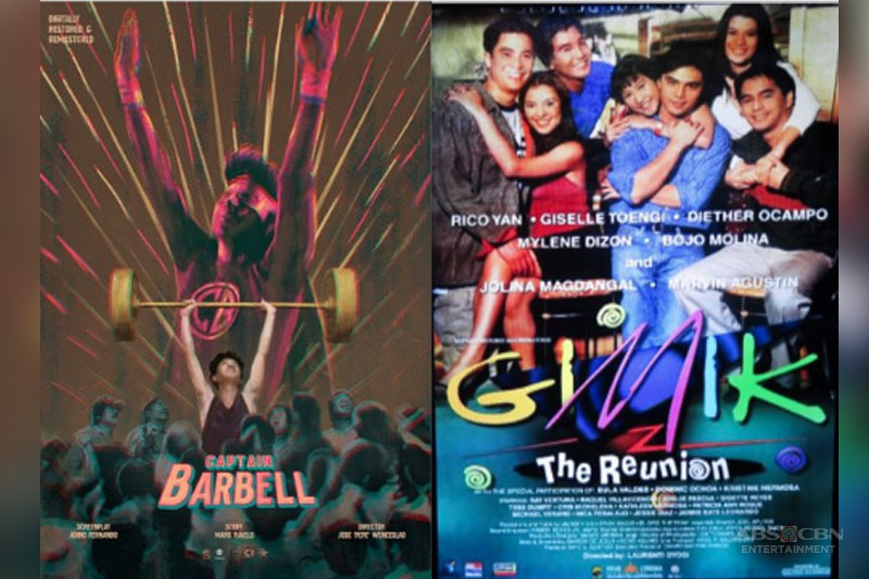 Captain Barbell and Gimik The Reunion open ABS CBN Film Restoration s Reelive the Classics  1