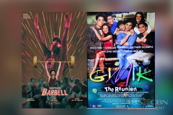 """Captain Barbell,"" and ""Gimik: The Reunion"" open ABS-CBN Film Restoration's ""Reelive the Classics"""
