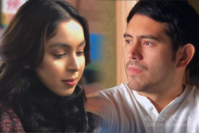 "Julia and Gerald on their roles in the movie ""Between Maybes"""