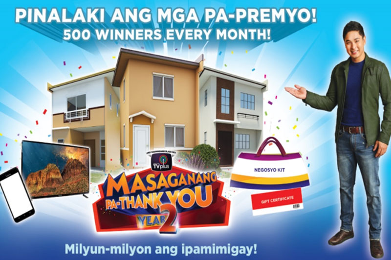 ABS CBN TVplus muling mamimigay ng house and lot 1