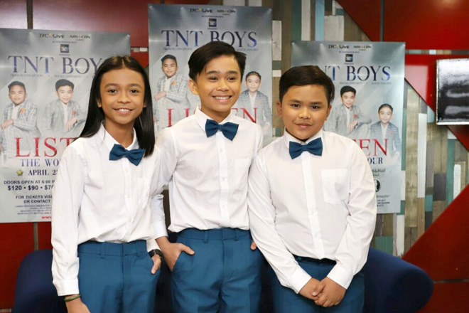 TNT Boys gear up for first world concert tour