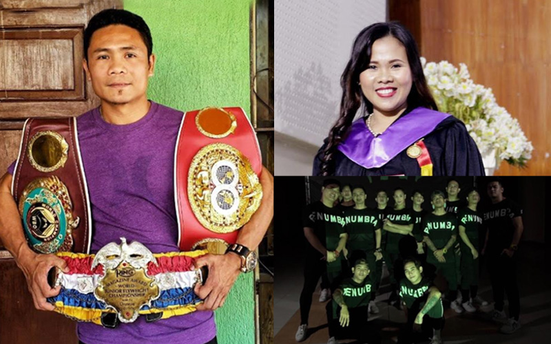 Filipino boxing legend shares inspiring rise on ABS CBN 1