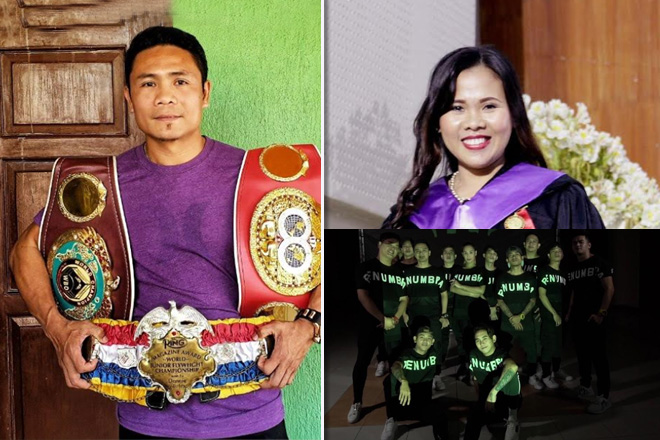 Filipino boxing legend shares inspiring rise on ABS-CBN
