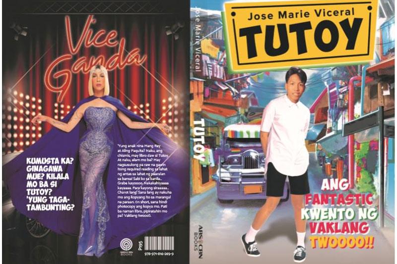 Vice Ganda unveils hilarious new book Tutoy  2