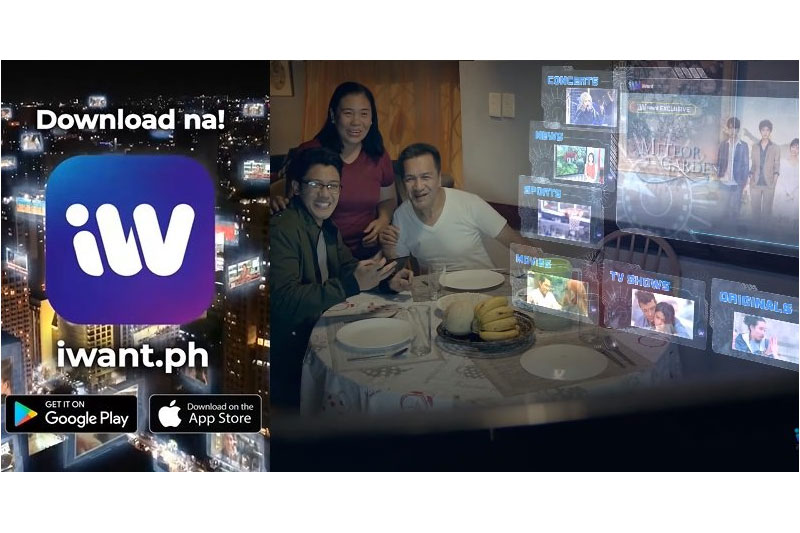 iWant houses biggest library of free movies shows and live events Filipinos want 1
