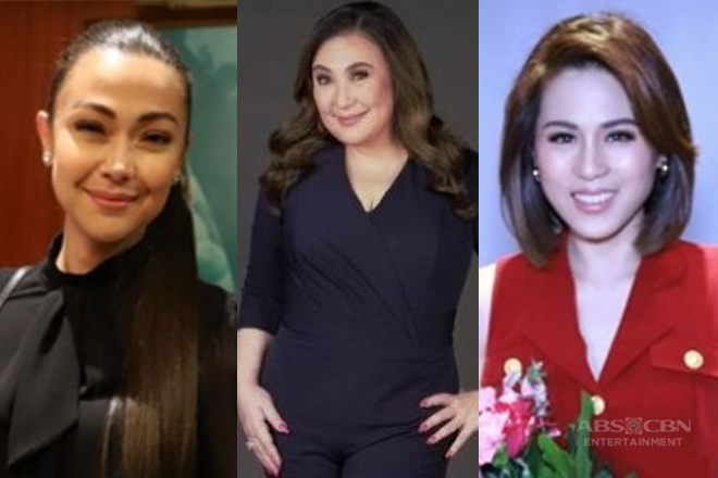 "Jodi, Toni, and Sharon on ""Showbiz Pa More"" this May"