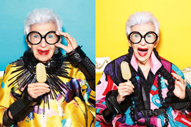 LOOK: 97-Year-Old Style Icon Iris Apfel Is The New Face of Magnum