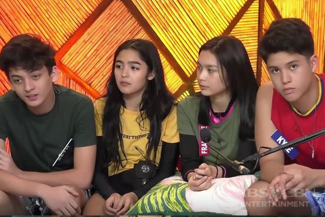 """Gold Squad"" in a special task in ""PBB Otso"""