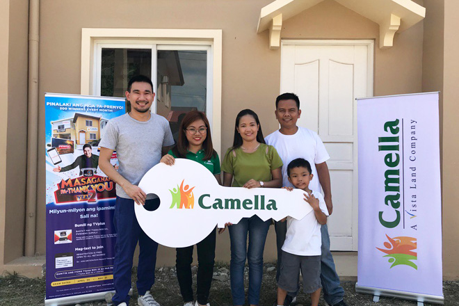 TVplus user na walang sariling bahay, nanalo ng house and lot