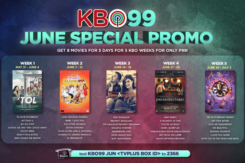 KBO offers KBO99 for Father s Day celebration this June 1